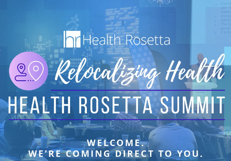 Cover for Health Rosetta Summit